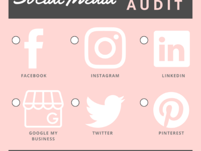 social media self audit | Kim McDaniels Co.